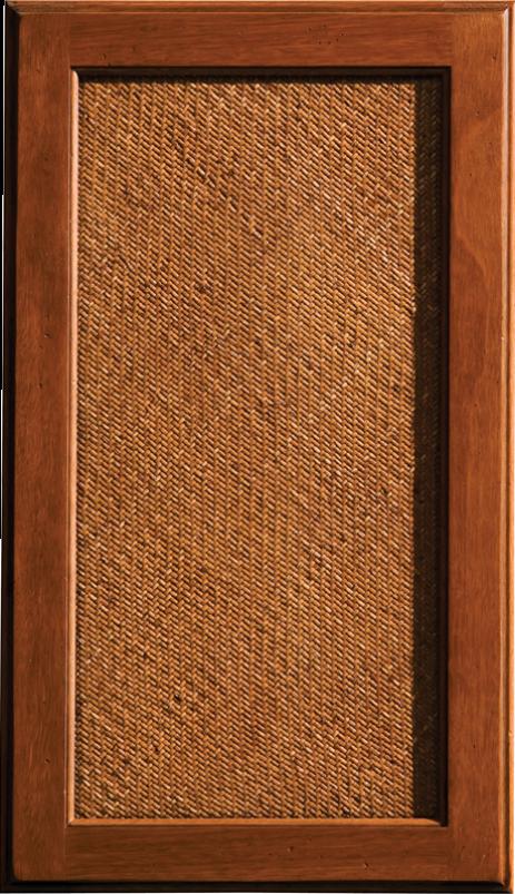 Dura Supreme S Rattan Insert Cabinet Door Style West