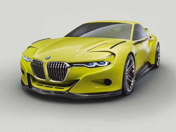 Bmw 3 0 Csl Hommage Concept Med Billeder Bmw Sportsvogne Biler