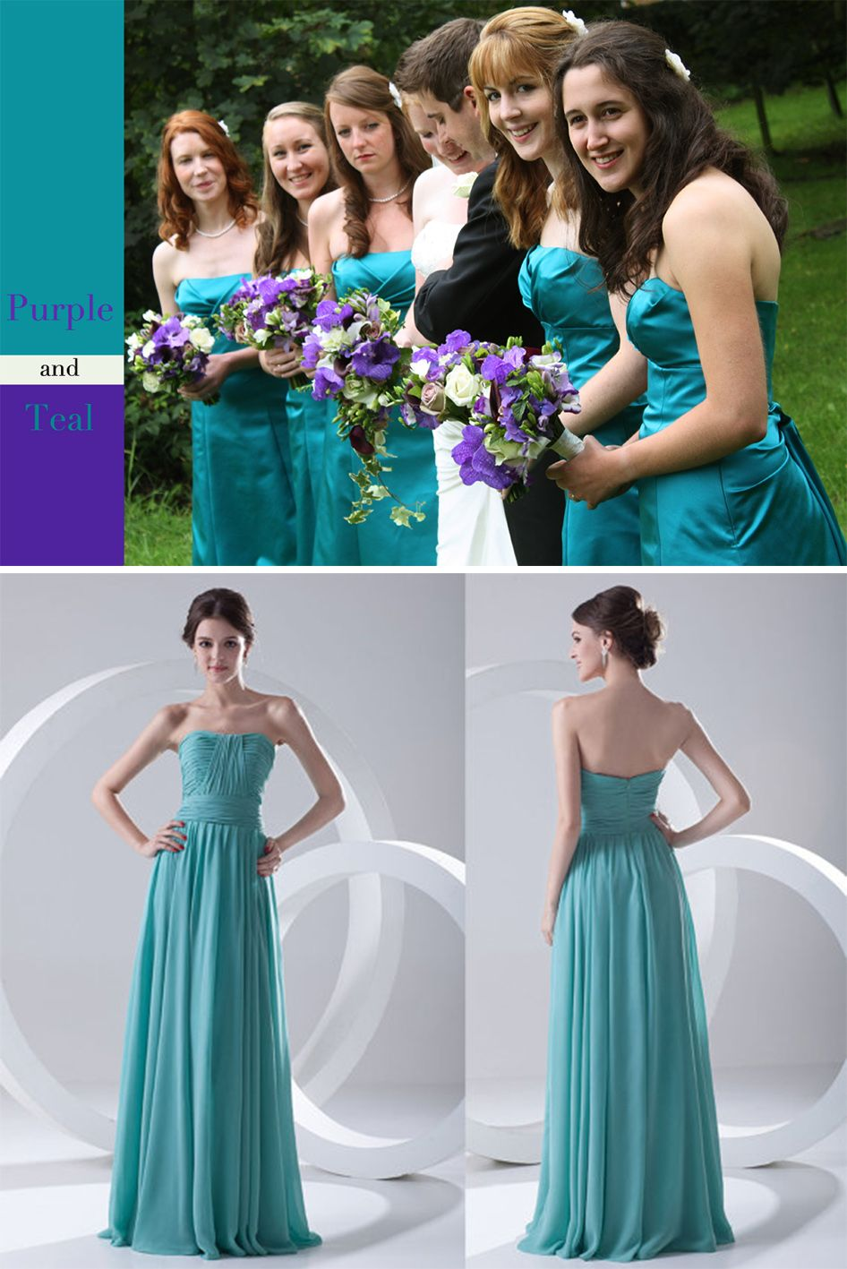 Best ideas for purple and teal wedding | Teal weddings and Teal