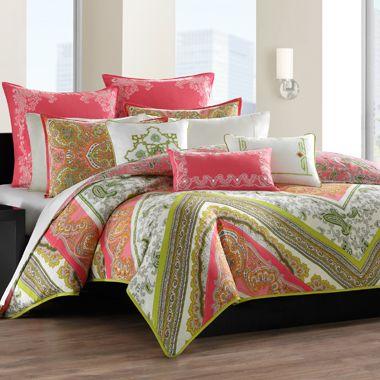 183a3aeb3223a62f7857b1355057222c - Better Homes And Gardens Indigo Paisley Comforter Set