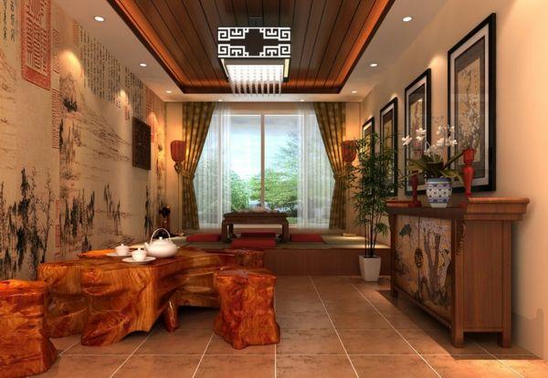 chinesische möbel wohnung einrichten asiatische möbel | Wohnideen ...