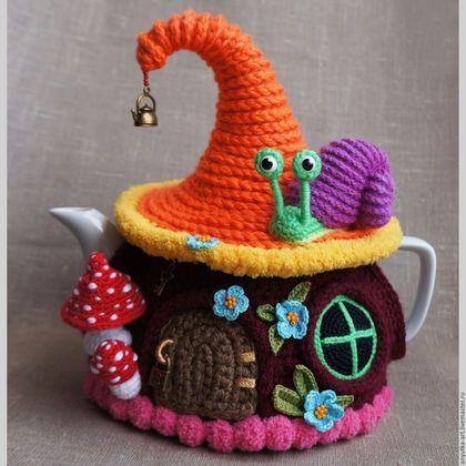 Teekannenwärmer Tea Cozy Diy Pinterest Wolle Und Stricken