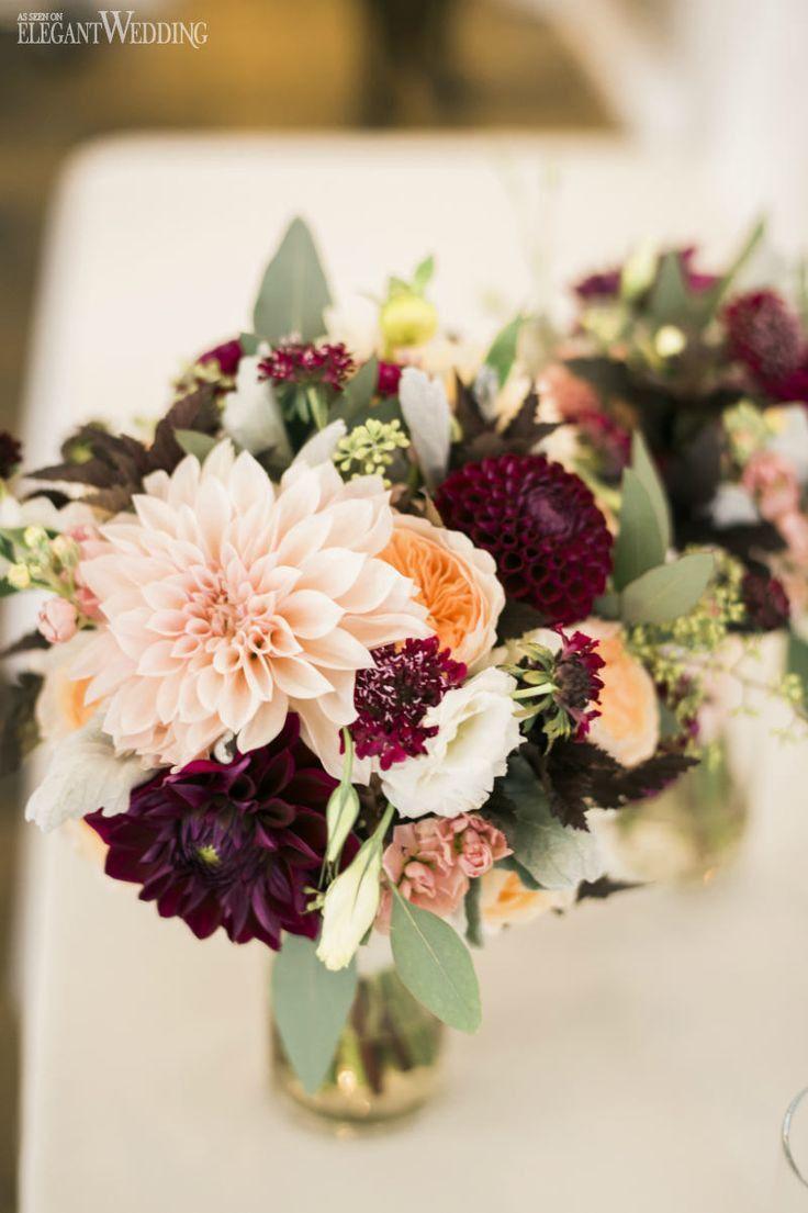 Flowers For A November Wedding Best 25 Purple Fall Weddings Ideas Purple Fall Wedding Purple Wedding Flowers Fall Wedding Centerpieces