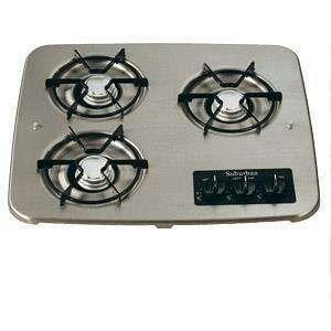 Gas Cooktop Suburban Drop In 3 Burner Outdoor Kitchen Outdoor Kitchen Appliances Outdoor Kitchen Design