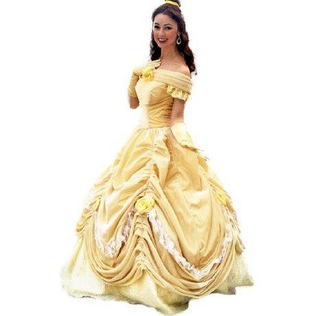 Het Kostuum Belle Princess Beest En VolwassenenJurk Y6gyvI7bf