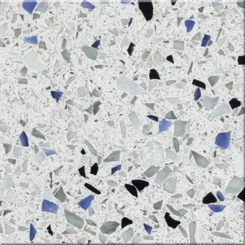 Arctic    By Curava    Recycled Glass Countertops