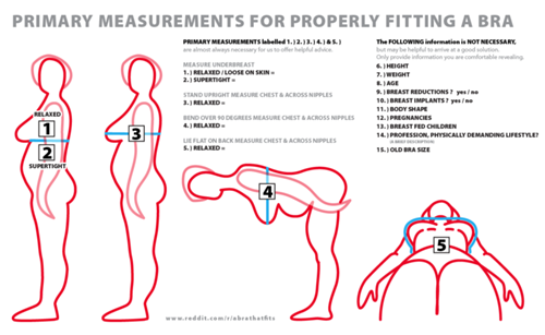cca4b4c030 How-to determine bra size is fundamental in getting a correctly fitting bra.  This guide about proper bra size measurement will help a bra-wearer find  the ...