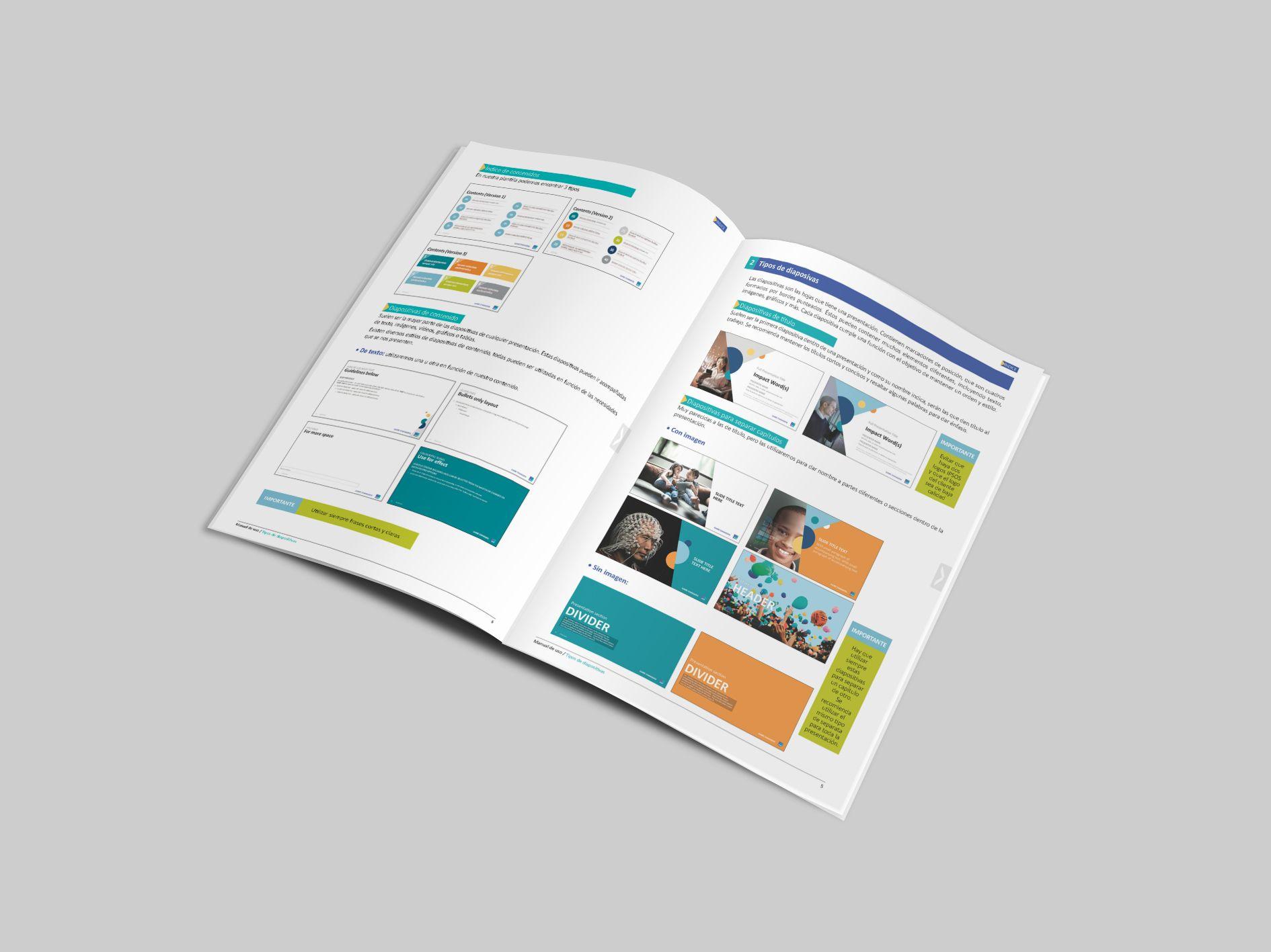 Elaboración de la guía de uso de la plantilla corporativa de ...