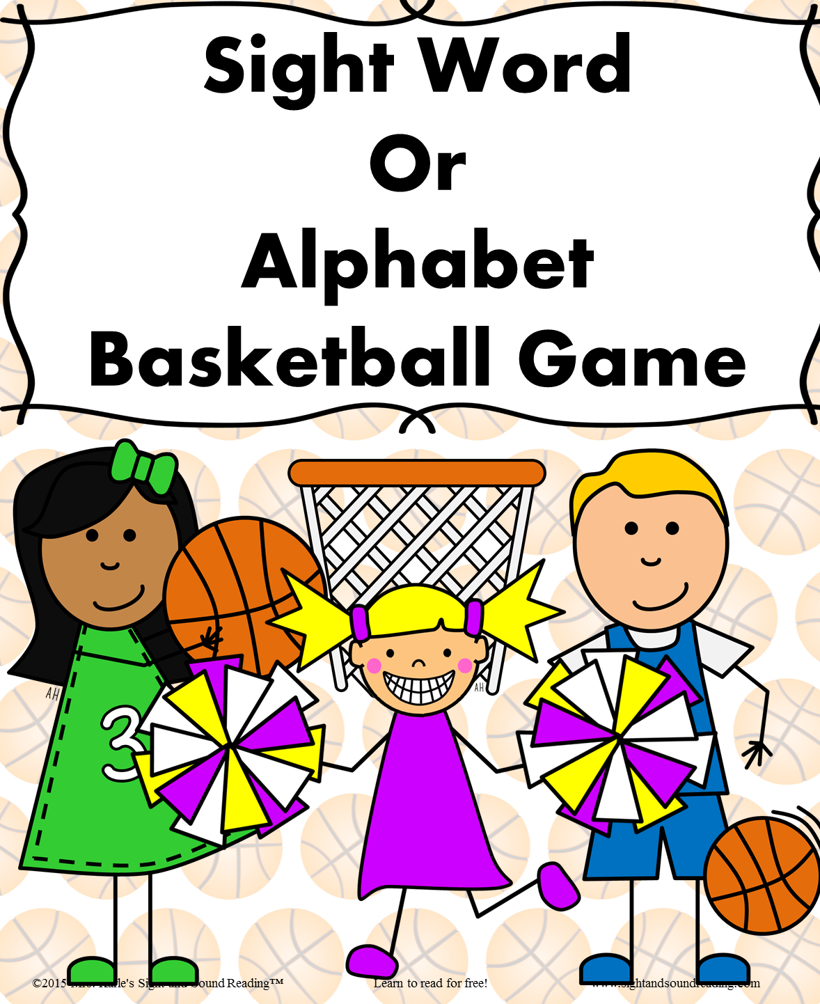 Three Fun Dolch Sight Word Games Football Basketball