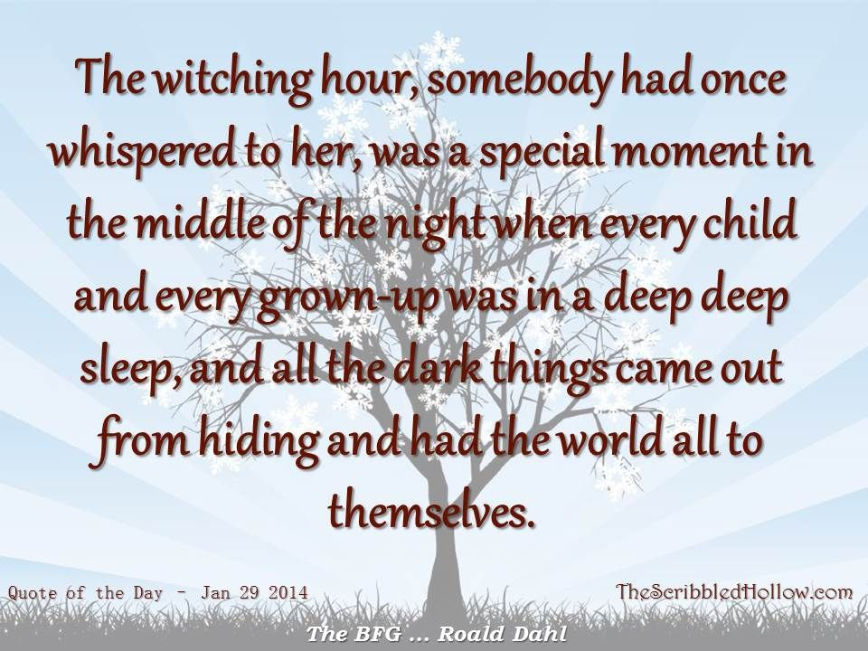 Quotes From The Bfg: Jan 29, 2014 The BFG By Roald Dahl