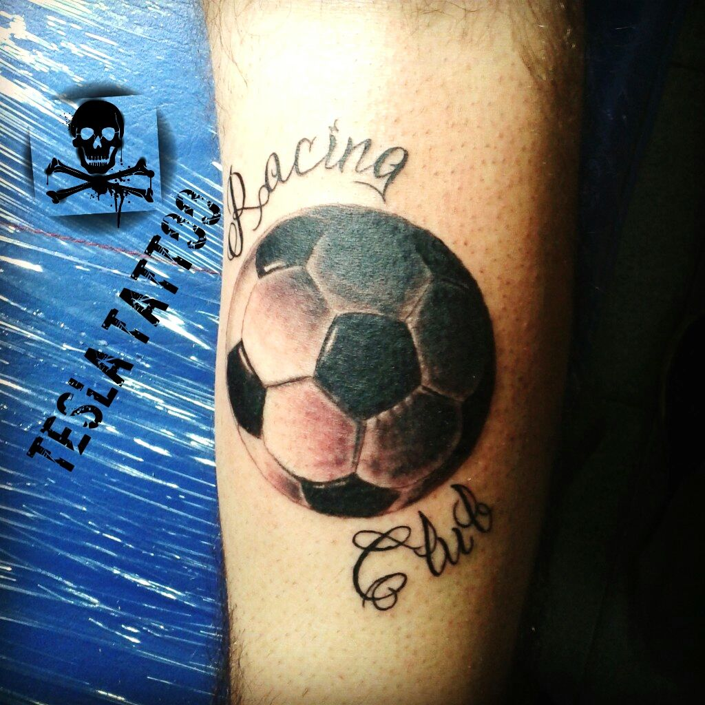 Pelota Tattoo Ball Futbol Football Tattoos Pinterest