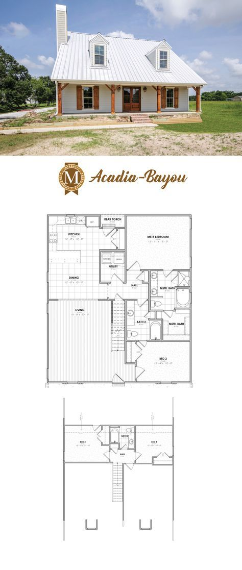 Plan Acadia Bayou Living Square Feet 2024 Bedrooms 3 Bathrooms 3 Lafayette Lake Charles