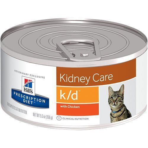Hills Prescription Diet Kd Kidney Care With Chicken Canned Cat Food 2455 Oz This Is An Amazon Affiliate Link Canned Cat Food Best Cat Food Kidney Recipes