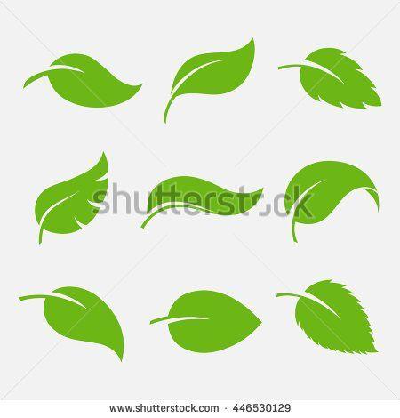 Tree Logo Stock Vectors \ Vector Clip Art Shutterstock - editable leaf template