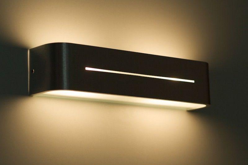 details zu up down strahler design wand leuchten flur wohn schlaf zimmer raum beleuchtung. Black Bedroom Furniture Sets. Home Design Ideas