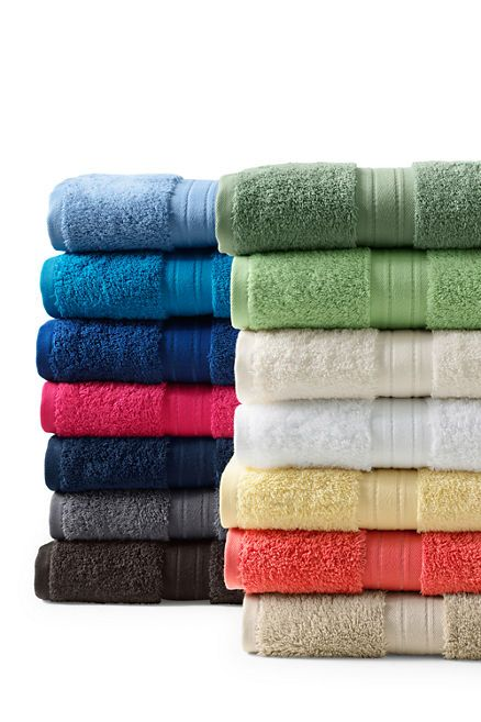 Need To Try These Lands End Supima Bath Towels With Images