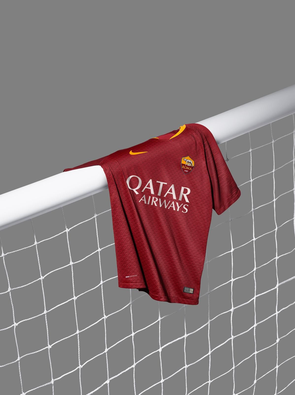new arrival de0f9 a8d07 18-19 Roma Home Red Soccer Jersey Shirt(Player Version ...