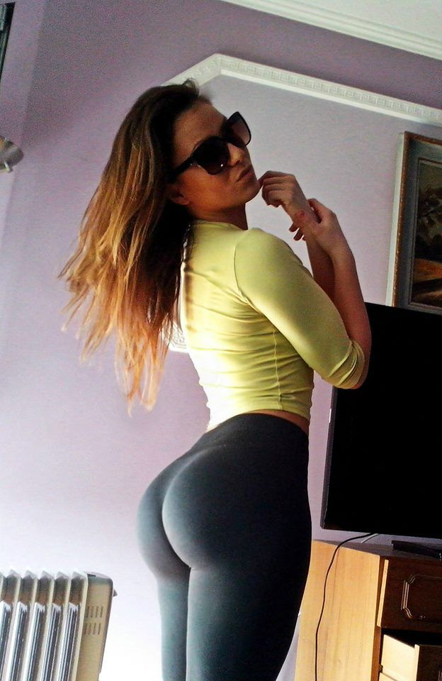 Nice Ass In Tight Leggings
