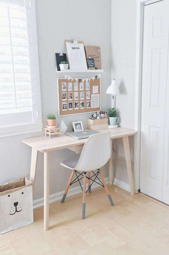 10 Creative Living Room Office Ideas - Mommy Thrives