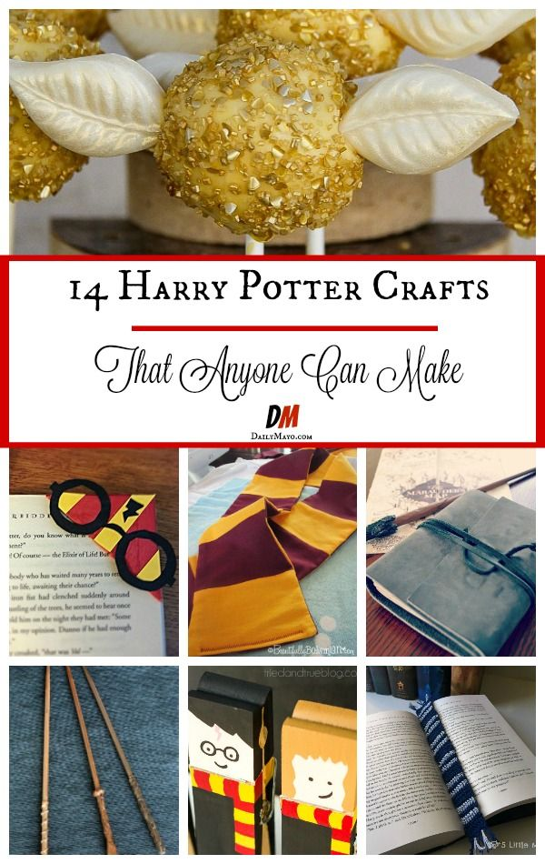 Simple Harry Potter Crafts Anyone Can Make - | Fun with ...