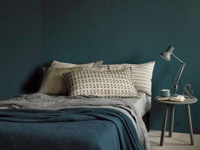 slaapkamer jongens mooie petrol kleur