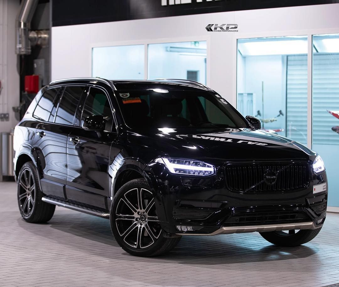The One Stop For All Of Your Performance Upgrade Needs Call Us On 97317780555 Volvo Xc90 Volvoxc90 Black Suv 4x4