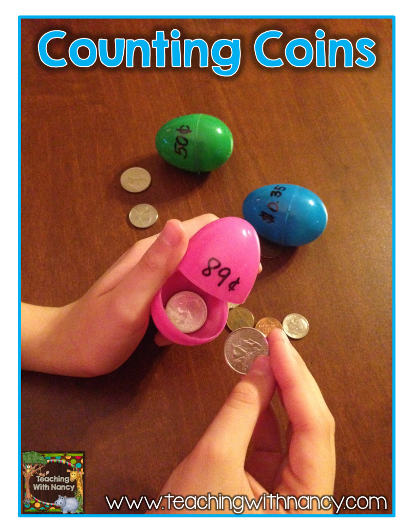 Coin Counting Egg Hunt | 123s Numbers & Counting | Teaching
