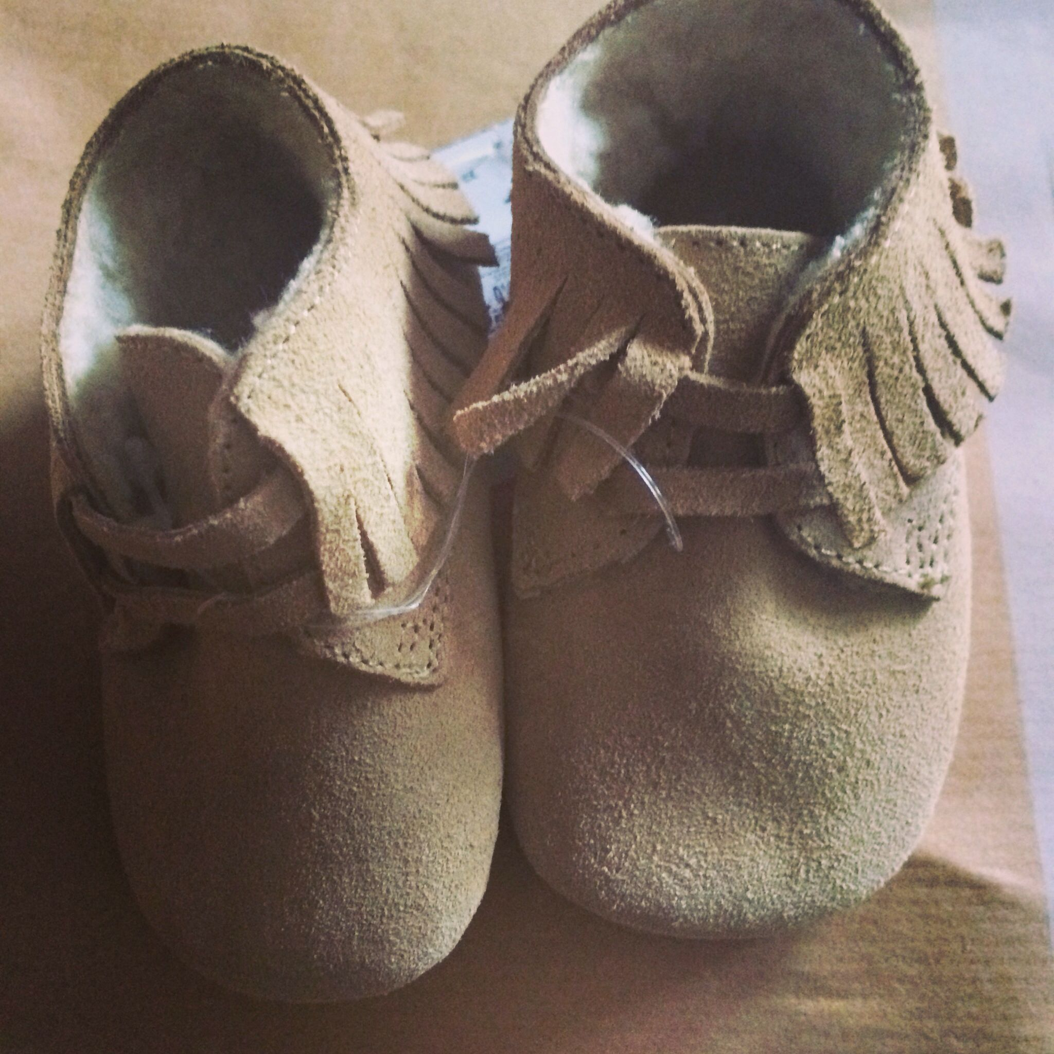 Baby Moccasins From Zara mini (With images) | Baby ...