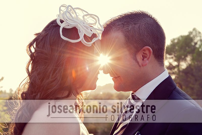Fotos de boda en Ibi (Alicante) y postboda en el campo