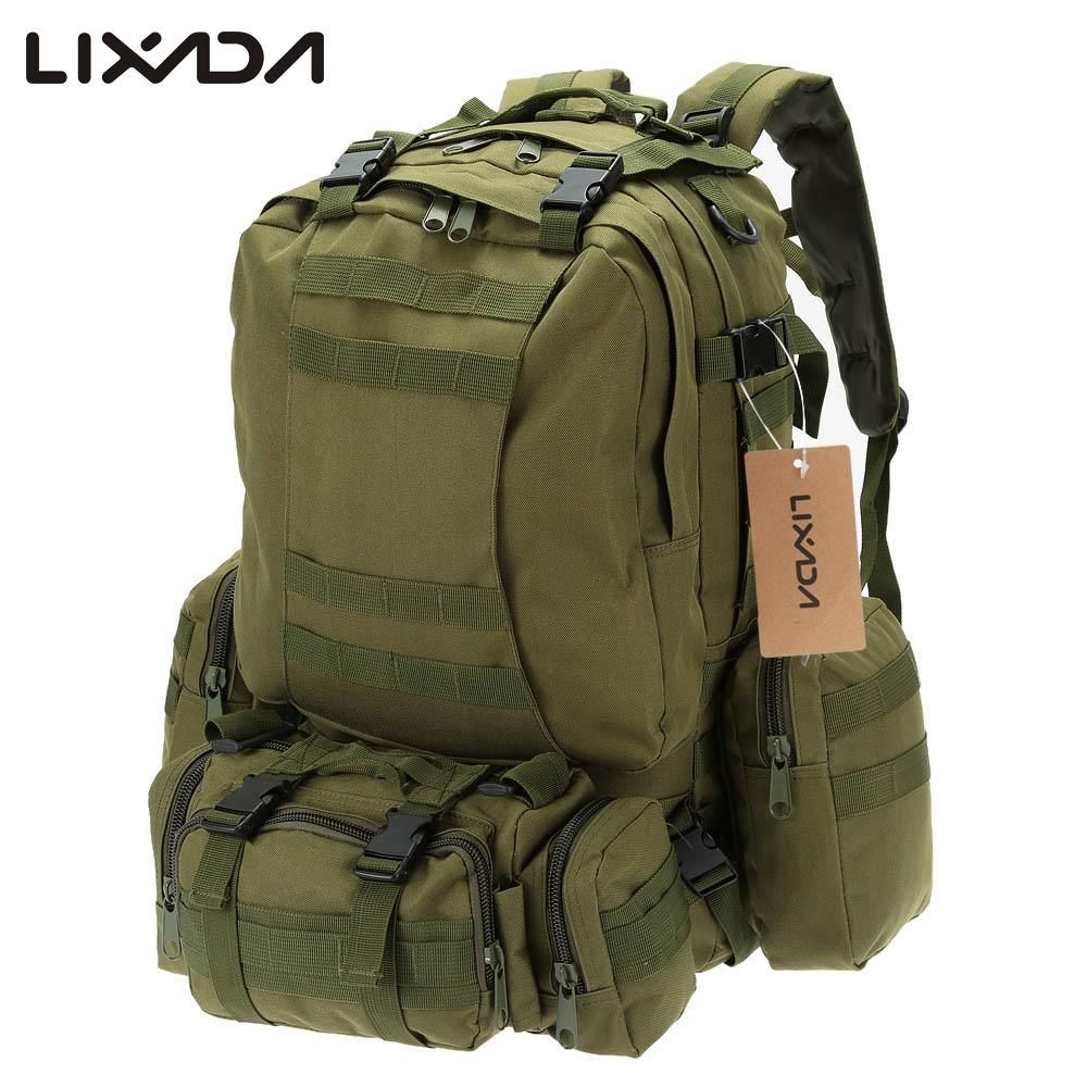 Molle Military Backpack Rucksack Tactical Outdoor Camping Hiking Water Resistant