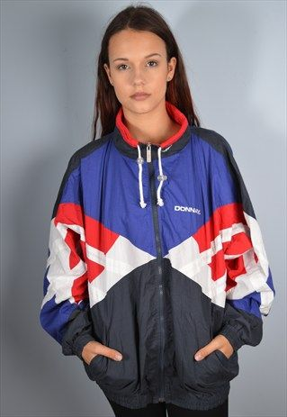 Donnay Womens Vintage Tracksuit Top