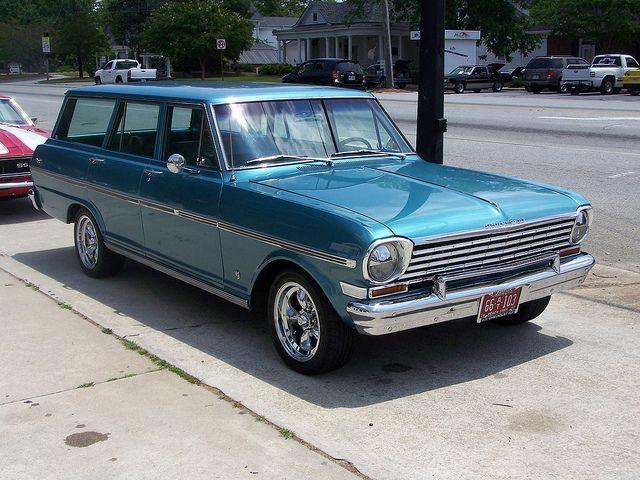 1963 Chevy Nova Ii Chevy Nova Wagon Chevrolet Nova Chevy Nova