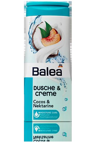 Shower gel_BaleaDusche a Creme, Cocos a Nektarine