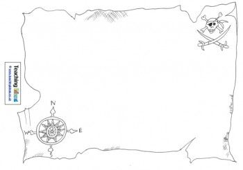 Talk Like A Pirate Day Design A Treasure Map Pirate Maps
