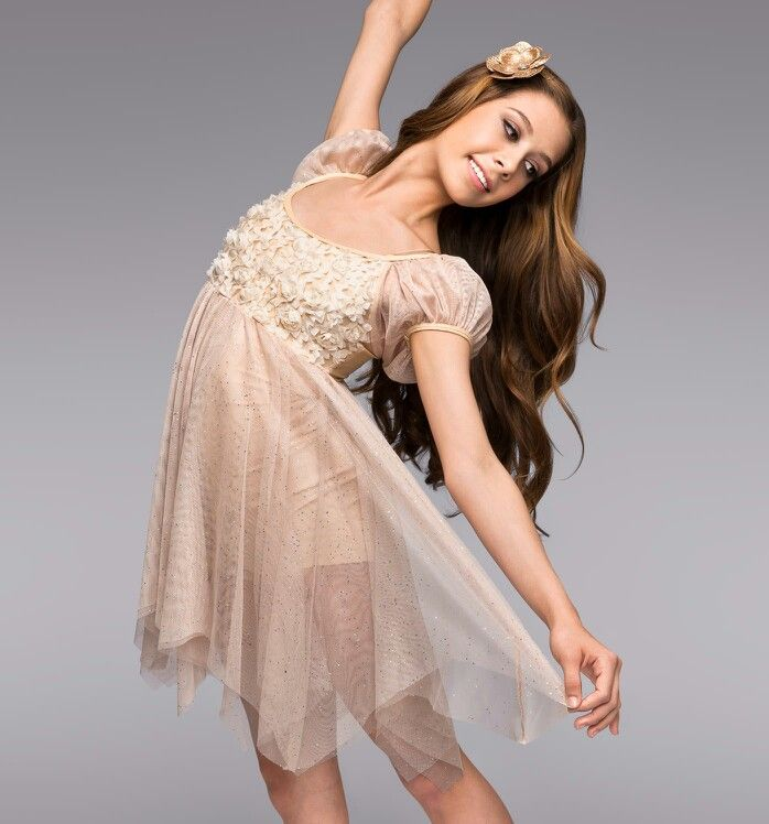 Lyric solo lyrical dance costumes : Heavenly