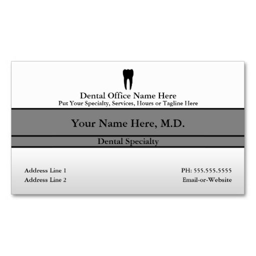 Dental office business card click business cards and template dental office business cards this great business card design is available for customization all reheart Image collections
