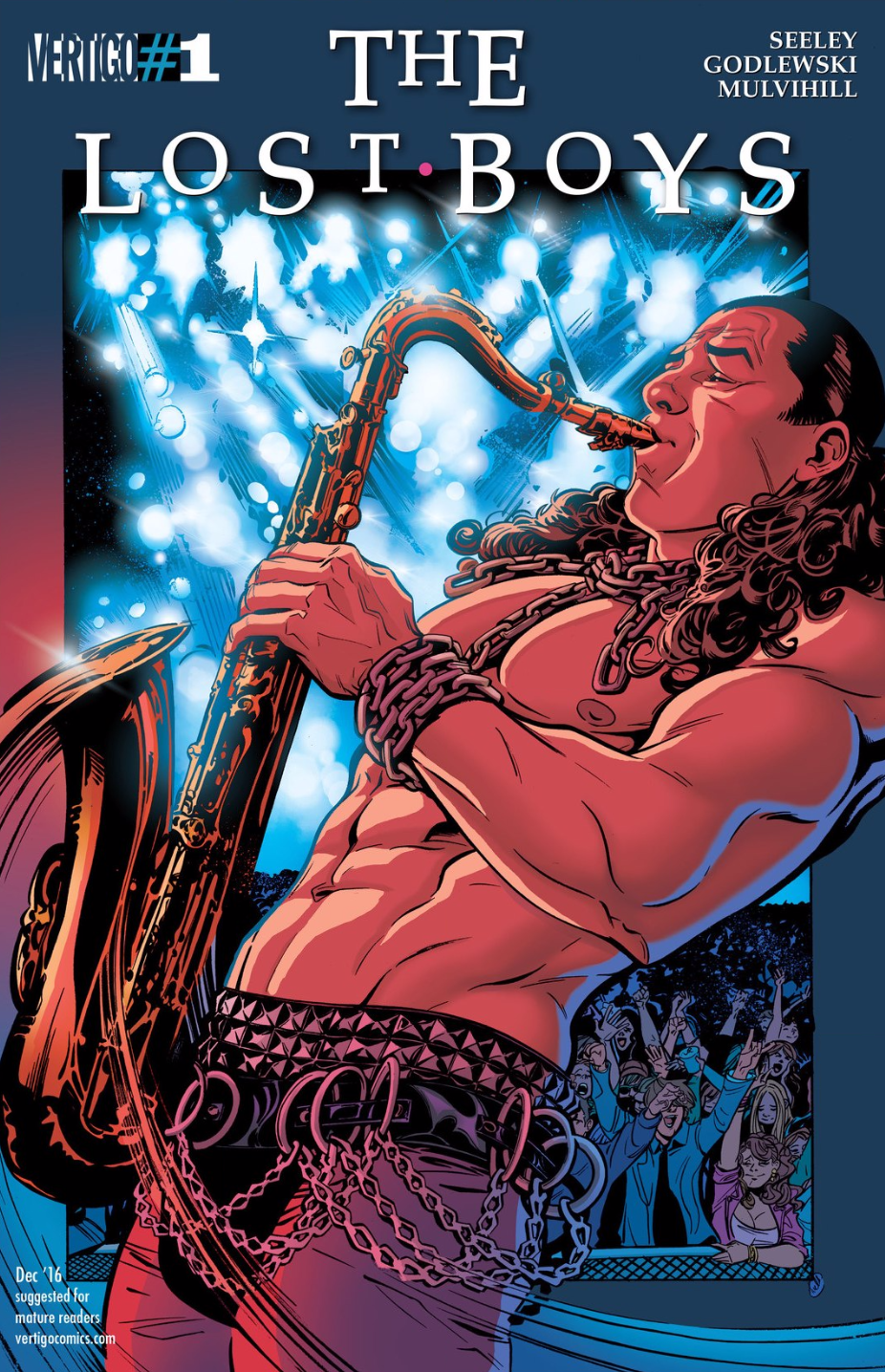The First Issue of the Lost Boys Comic Book Has 2016's Best Variant Cover