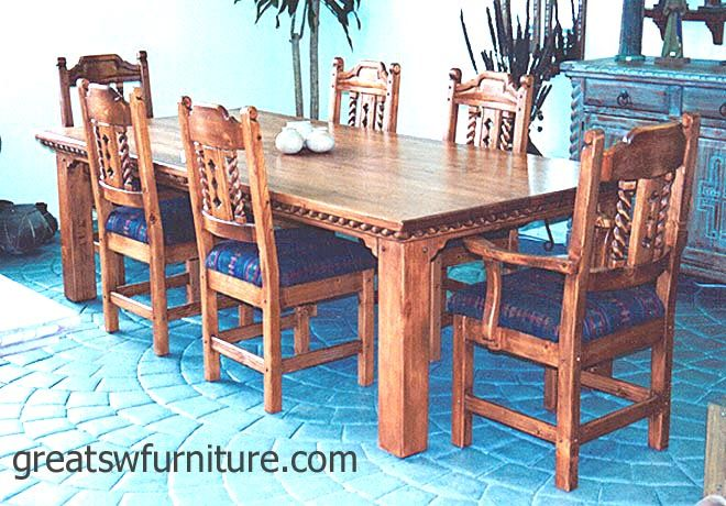Mission Southwest Dining Furniture Southwest Furniture