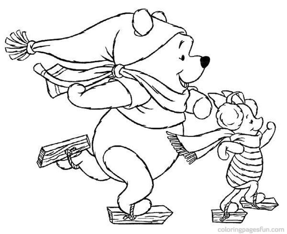 Free Disney Christmas Coloring Pages