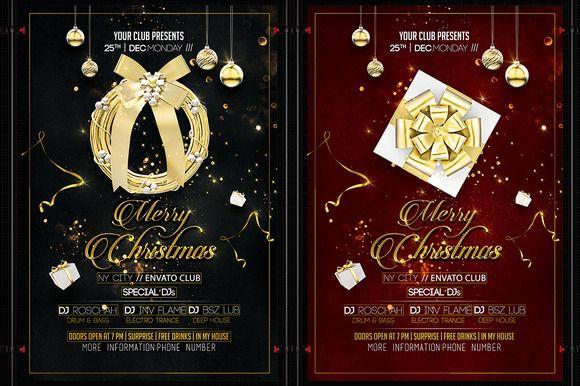 Christmas Flyer @creativework247