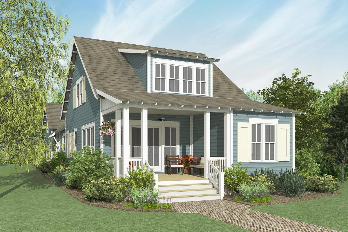 Plan 130048lls 30 Wide Exclusive 4 Bed Country House Plan Country House Plan House Plans Bungalow House Plans