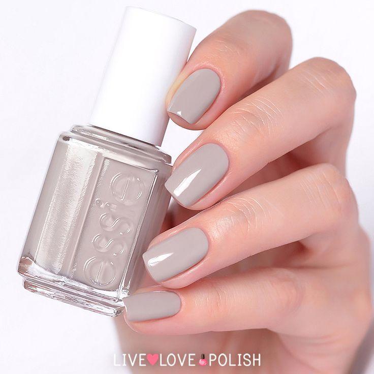 Essie Take It Outside Nail Polish | Nails! | Pinterest | Gray nails ...