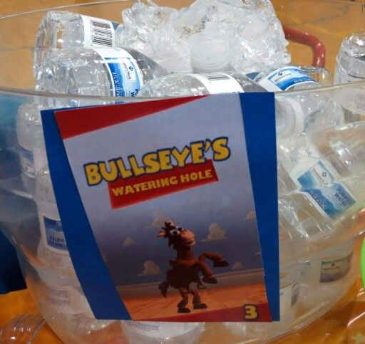 Toy Story Birthday Party Food And Drinks Bullseye S