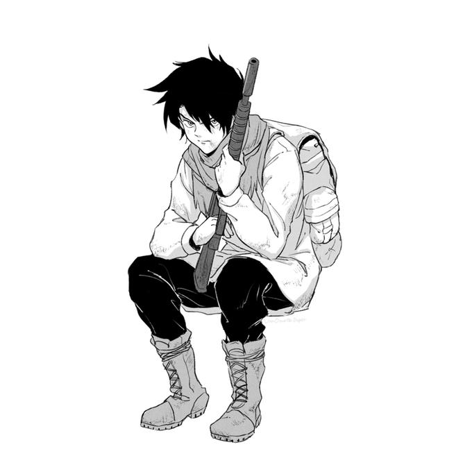 Ray The Promised Neverland Neverland Neverland Art Dark Anime Guys