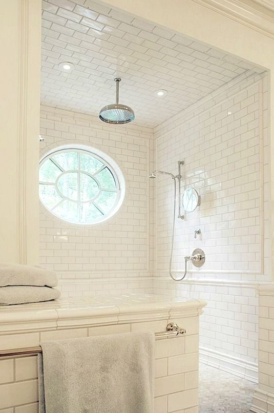 Bathroom decor diy ideas If you're gonna be redoing your rooms yourself, be sure you finish painting the walls prior to replacing the carpet or tiles. So try and finish painting prior to deciding to won't ought to worry in relation to messing it up with paint. #Bathroomdesigninfo #whitesubwaytilebathroom