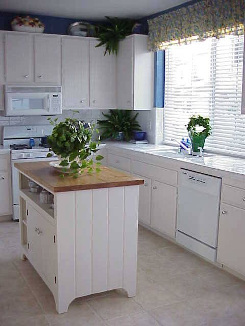 Kitchen With Small Island top 10 kitchen countertops | july 31, kitchens and coral