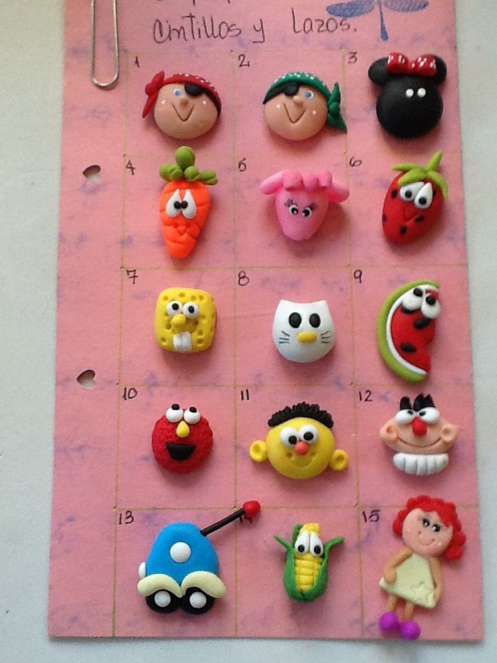 sculpey craft ideas polymer clay crafts aplicaques lazos roxsanabellop 2889