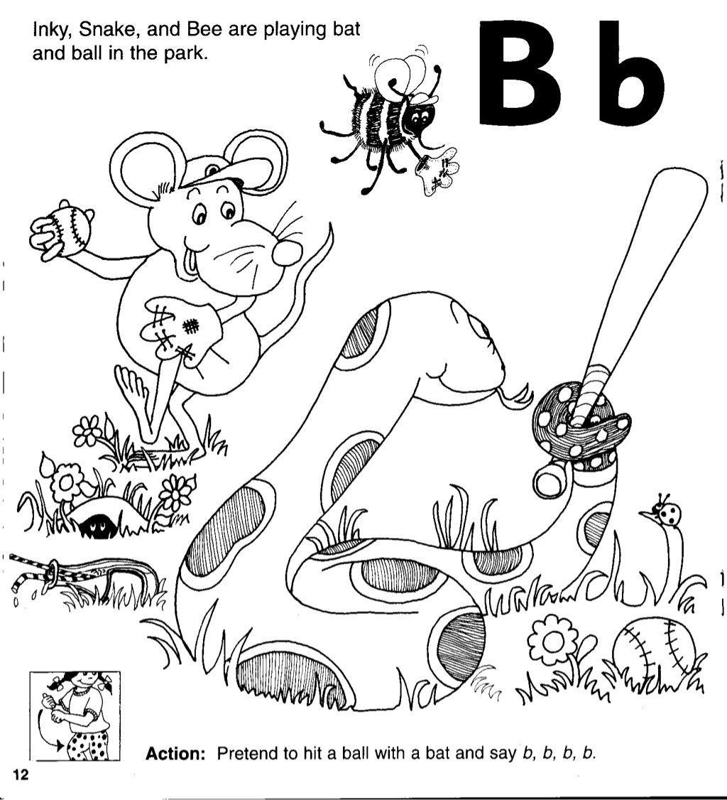 Jolly Phonics Workbook 3 G O U L F B In