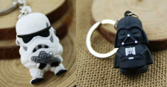 Star Wars Key Ring Pendants Only 39¢ Shipped