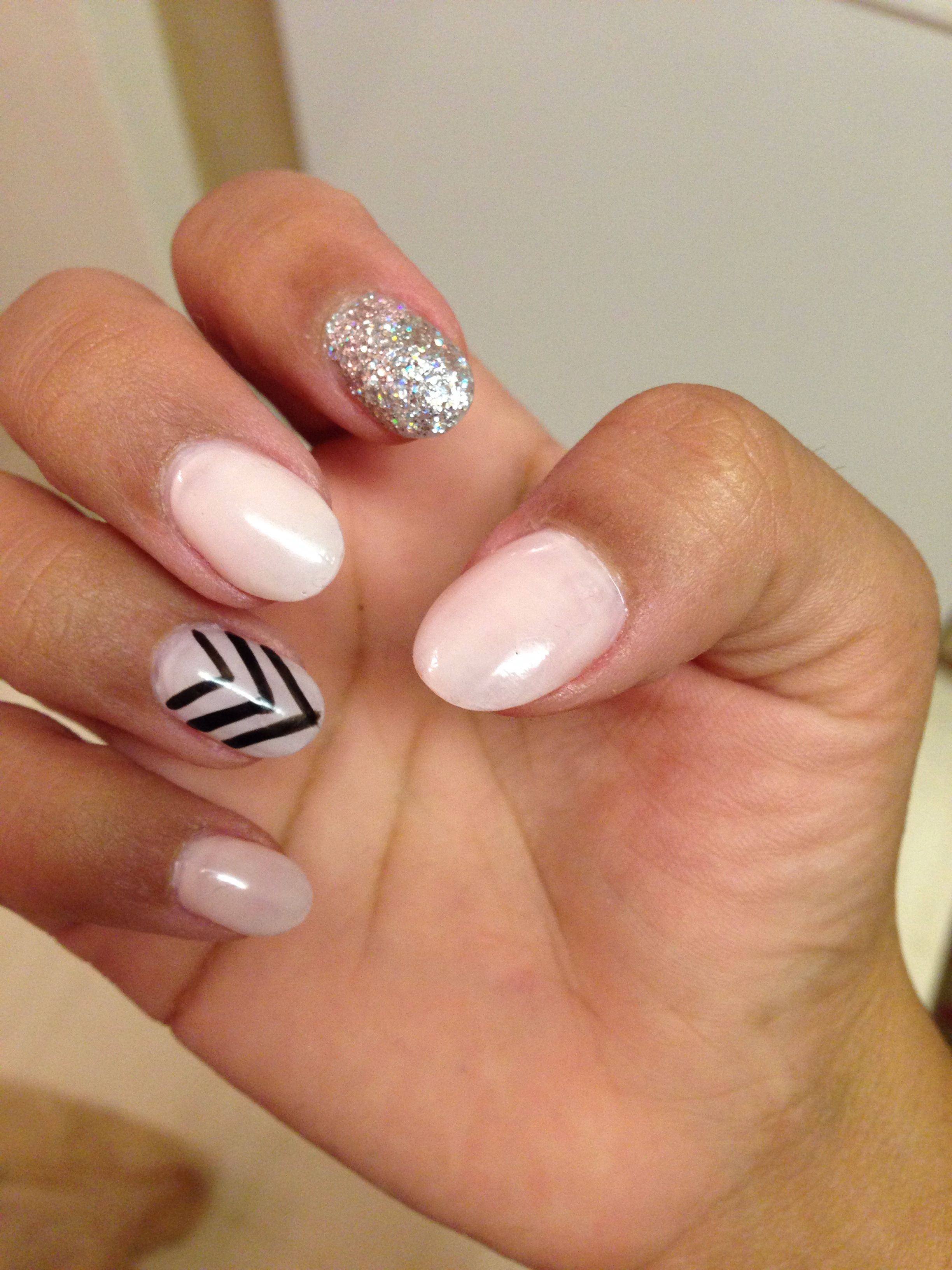 Almond, and short nails luv it | Beauty | Pinterest